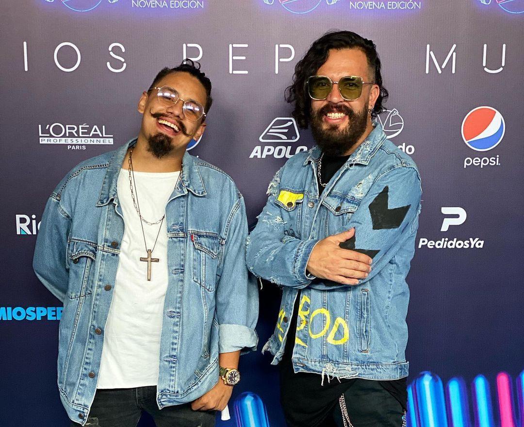 Jesucristo caminó la alfombra azul de los Pepsi Music con «JahazielBand»