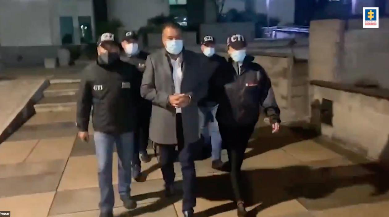 Gobernador de Arauca fue capturado por «suscribir contratos» con el ELN