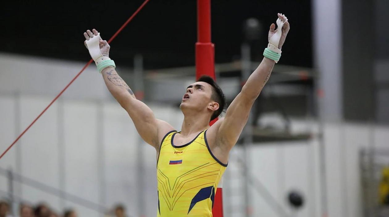 Jossimar Calvo no jugará la final del Mundial de Gimnasia, tras dar positivo para Covid-19