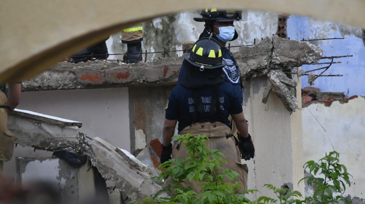 Hombre falleció tras caerle estructura de concreto en casa abandonada de Barranquilla