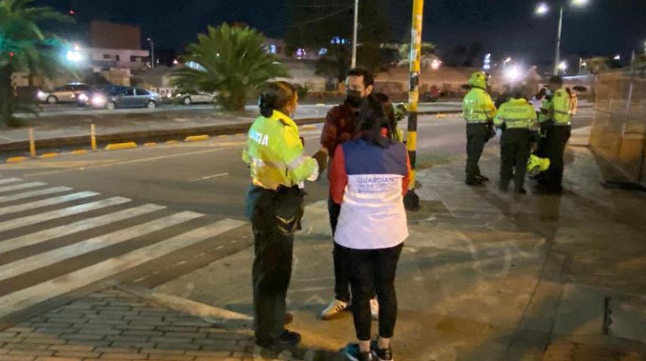 Enfrentamientos de barras de Santa Fe y Millonarios dejó tres heridos
