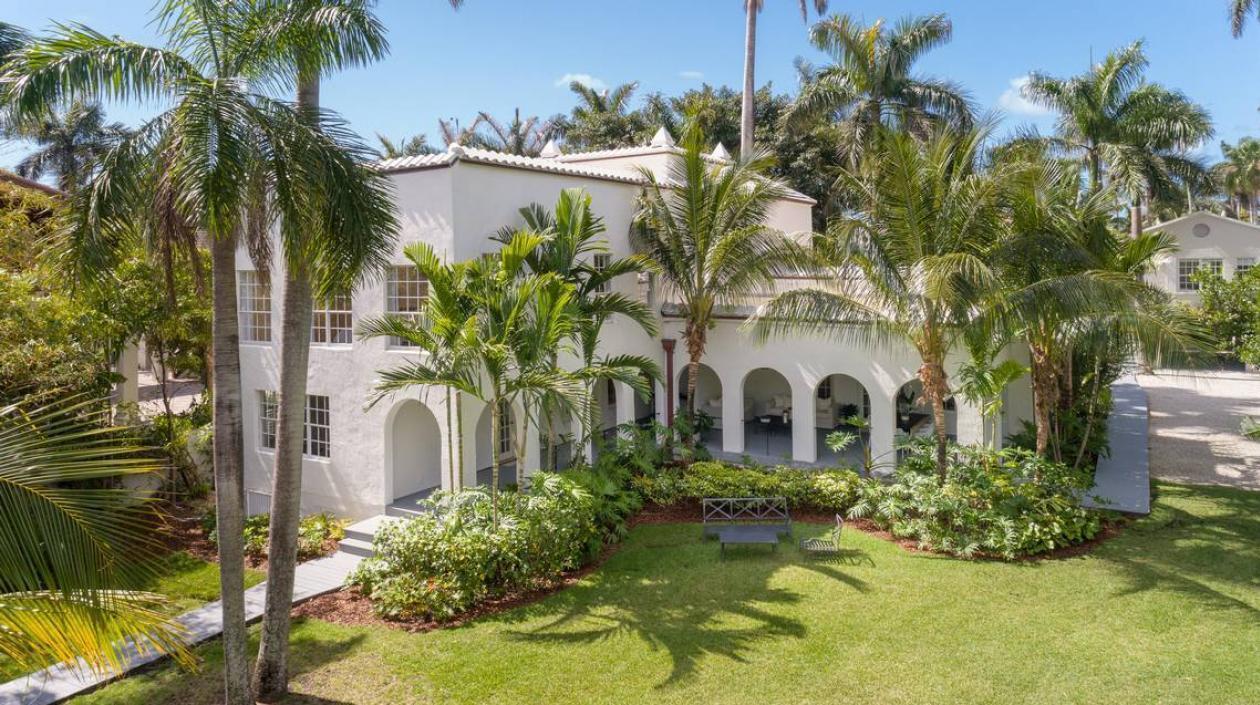Fue vendida la mansión de Al Capone en Miami Beach por 15,5 millones de dólares