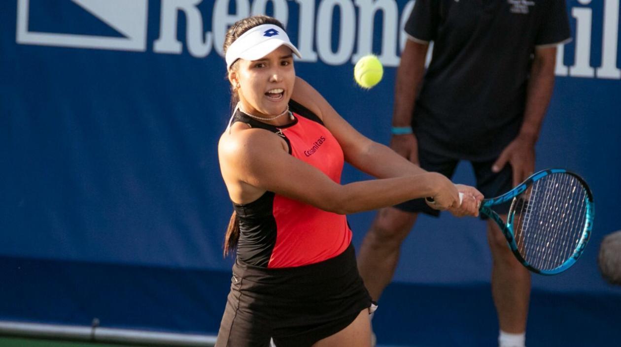Maria Camila Osorio hace historia tras meterse en semifinales del WTA 250 de Tenerife