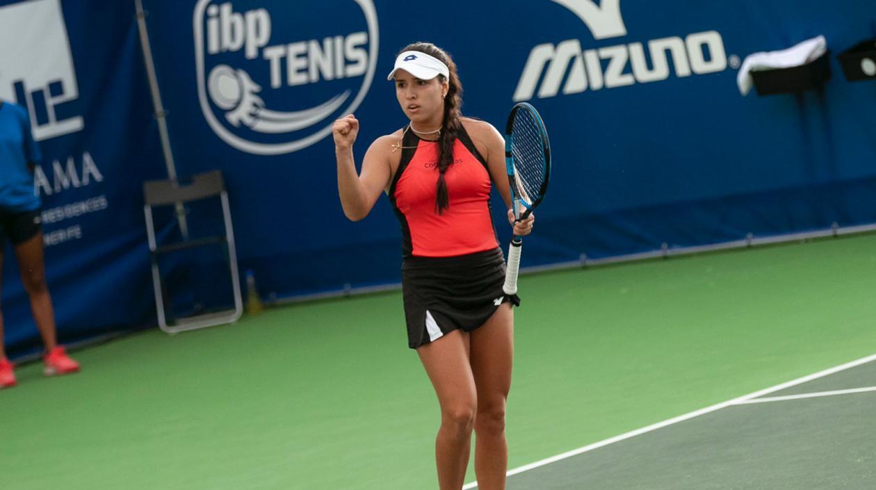 Maria Camila Osorio avanzó a la gran final del WTA de Tenerife