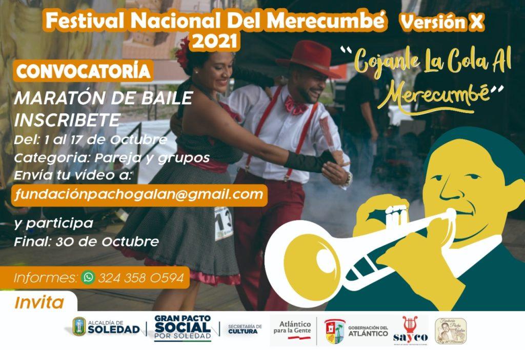 """""""Cójanle la cola al Merecumbé"""", el concurso que tendrá el Festival Nacional del Merecumbé"""