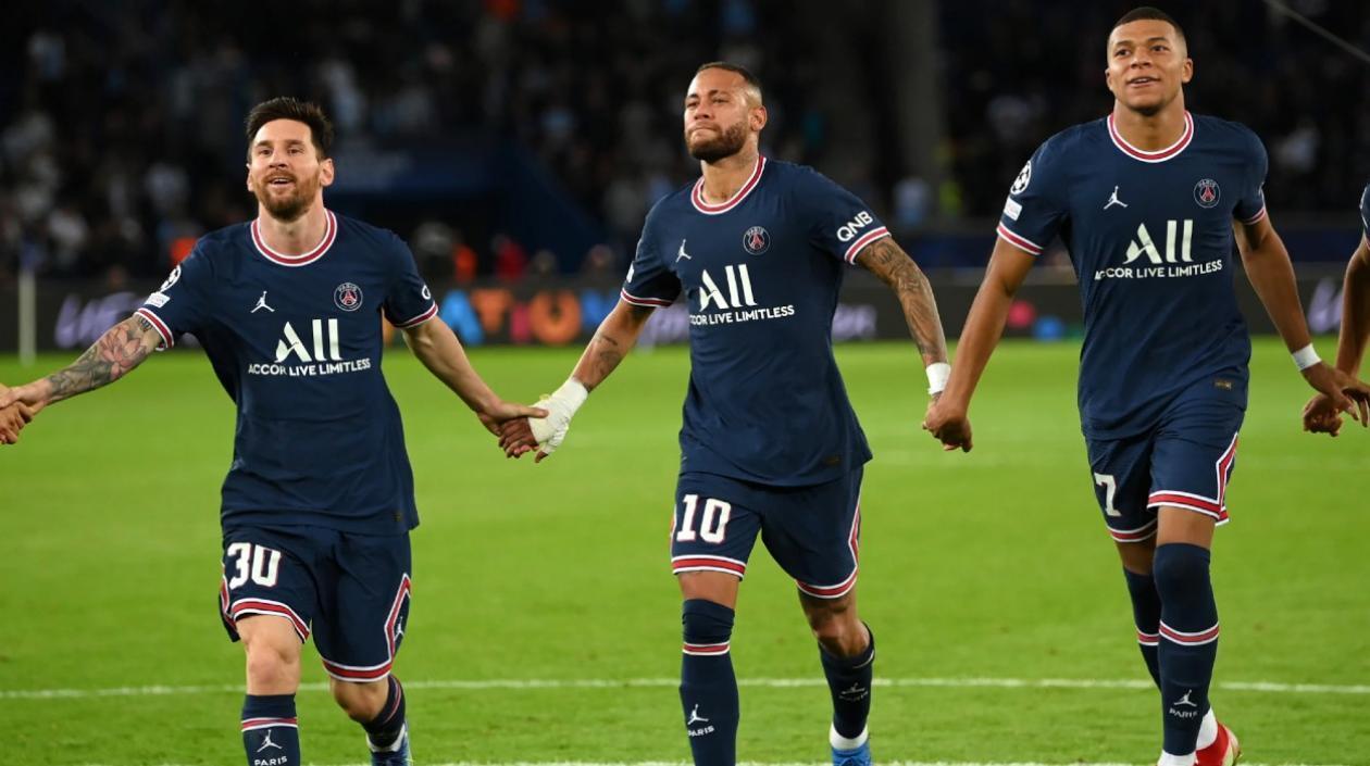 Messi, Neymar y Mbappé han coincidido solo 4 partidos, ¿No funciona el tridente parisino?