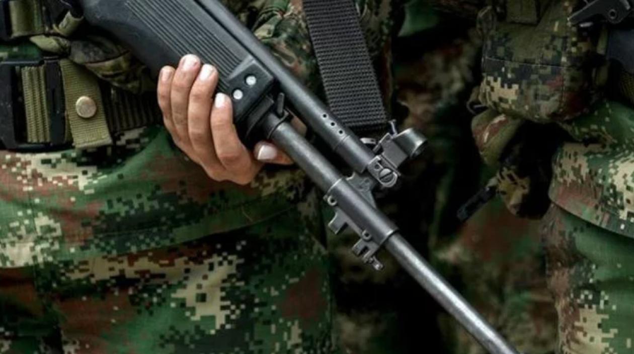 Un militar muerto y otro herido dejó ataque de disidencias de las FARC en Arauca