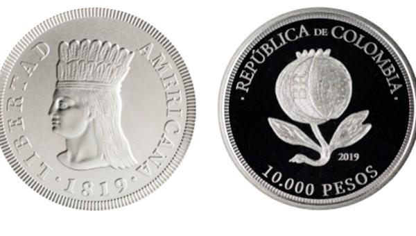 Banco de la República emitió moneda en homenaje del Bicentenario de la Independencia