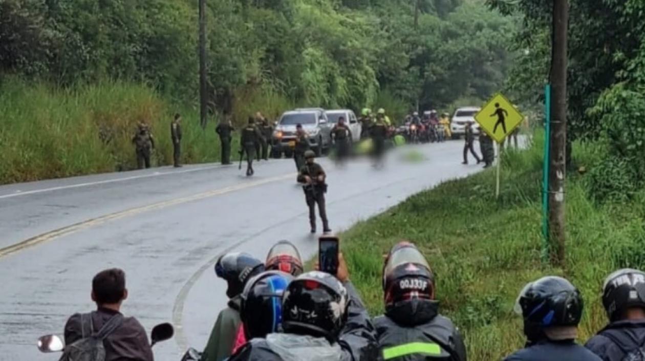 Hombres armados asesinaron a dos policías durante emboscada en Santander de Quilichao