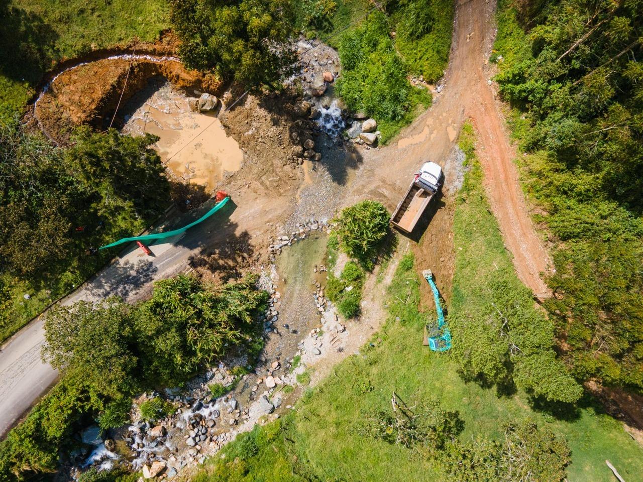 En Medellín Inició la construcción del puente Naranjal – Boquerón, obra que beneficiará a 8.000 personas en San Cristóbal