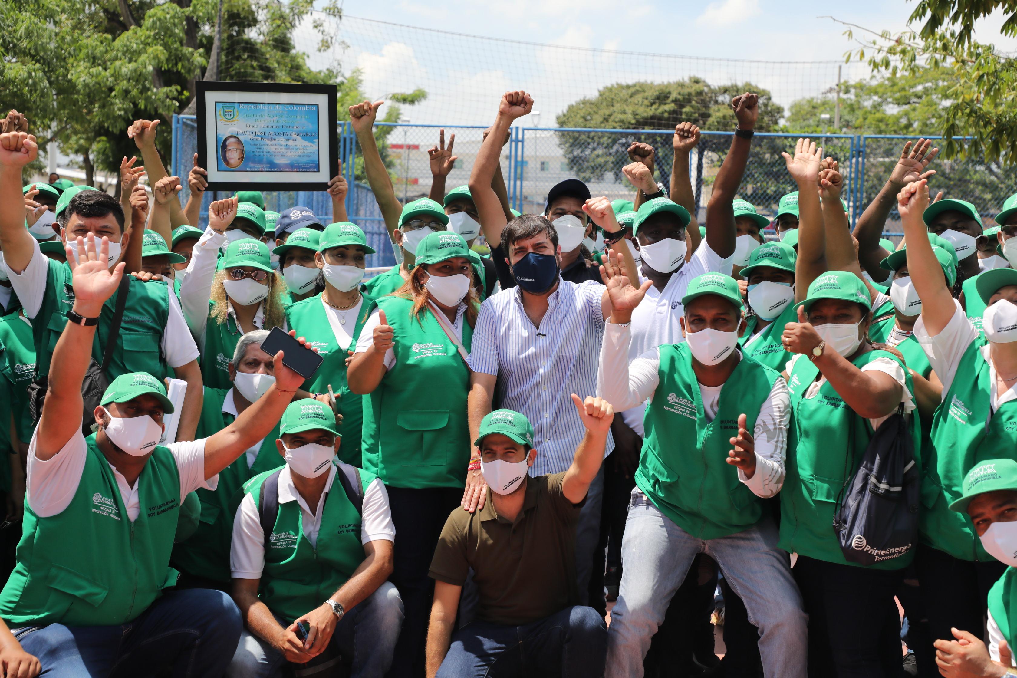 """""""Escuchando a la gente construimos la Barranquilla que tenemos y que soñamos"""" – @jaimepumarejo"""